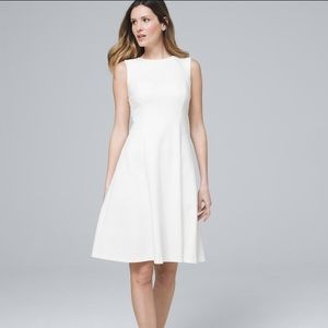 WHBM Sleeveless Fit and Flare Dress